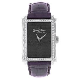 Cuervo Y Sobrinos Prominente A1010.1NC-SP Original Diamonds Unisex Watch