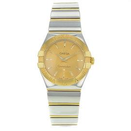 Omega Constellation 123.20.27.60.08.002 Steel & Gold Quartz Womens Watch