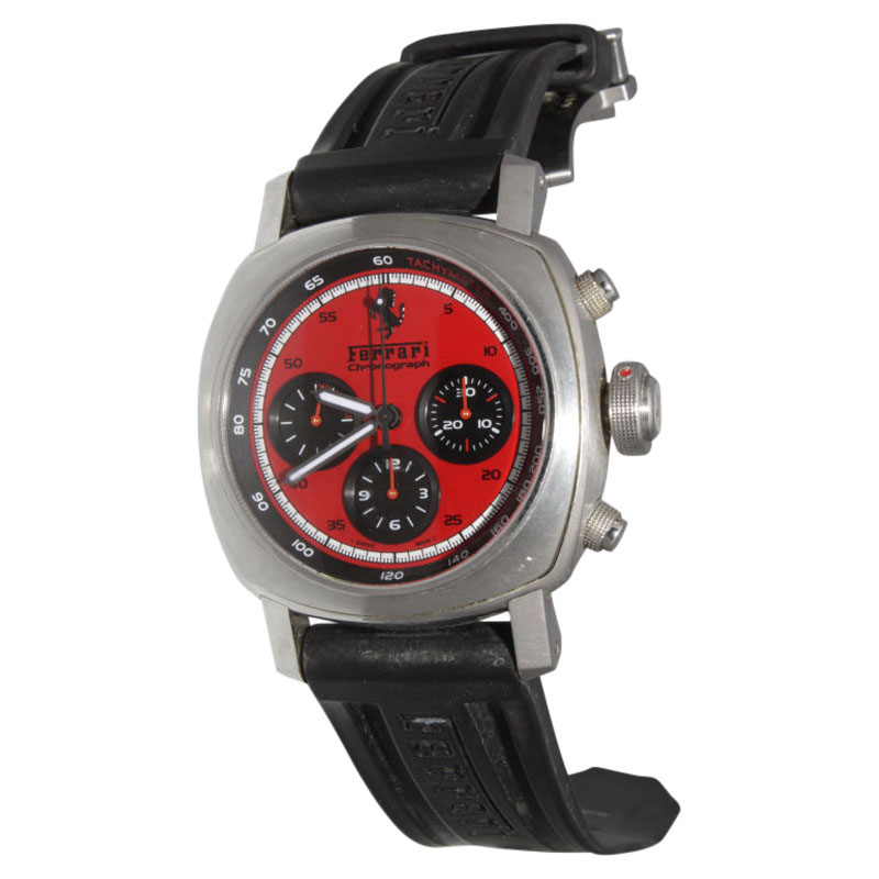 "Image of ""Panerai Ferrari Granturismo Red Dial Fer00013 N.i.b Watch"""