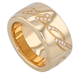 Chopard Chopardissimo18K Gold Diamonds Women's Ring