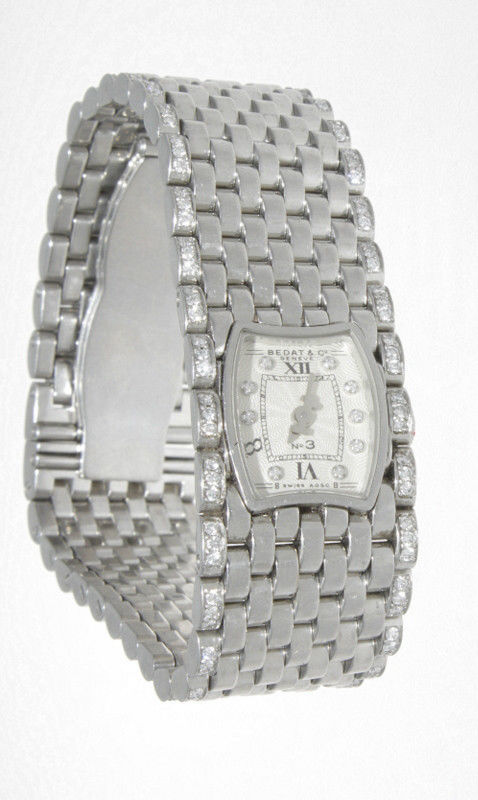 "Image of ""Bedat & Co. No.3 Ref.308 Stainless Steel And Diamond Womens Watch"""
