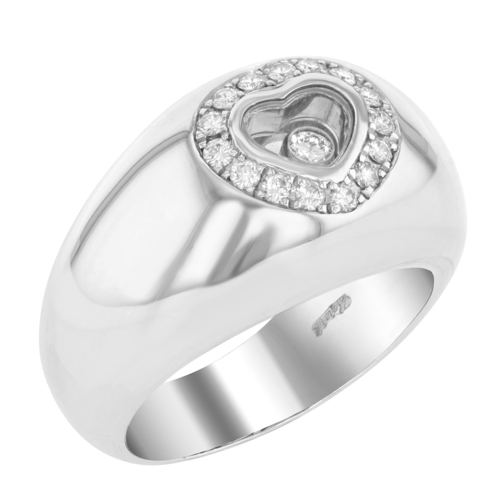 "Image of ""Chopard Diamond Heart Ring"""