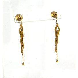 Carrera Y Carrera 18K Yellow Gold & Diamond Dangle Earrings