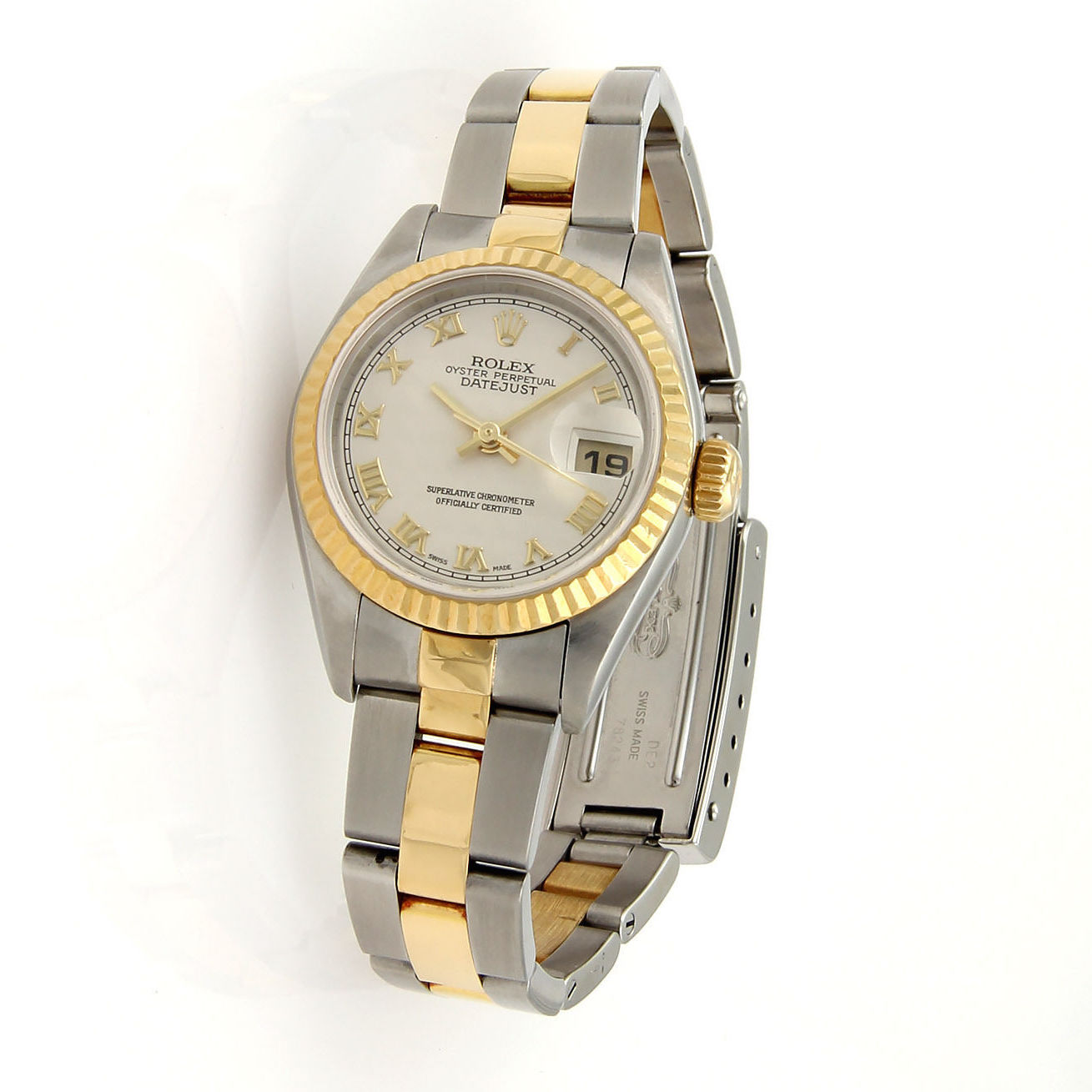 "Image of ""Rolex Oyster Perpetual 18k Yellow Gold and Stainless Steel Datejust"""