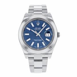 Rolex Datejust II 116300 BLIO Stainless Steel Automatic Men's Watch