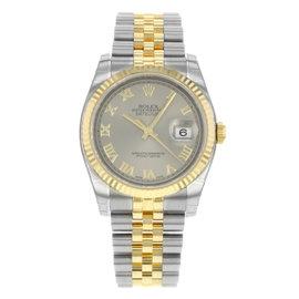 Rolex Datejust 116233 GRJ Steel & 18K Yellow Gold Automatic Men's Watch