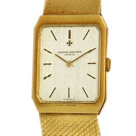 Vacheron Constantin Vintage 18k Yellow Gold 5 Position 20 Jewels Men's Watch