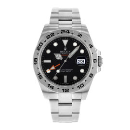 Rolex 216570BK Explorer II Stainless Steel Automatic Men's Watch