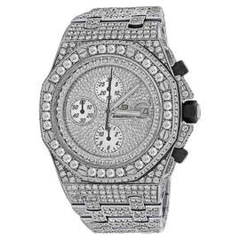 Audemars Piguet Royal Oak Offshore Diamond Dial Case Bracelet Watch