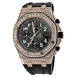 Audemars Piguet Royal Oak Offshore Chronograph Rose Gold Diamond Watch