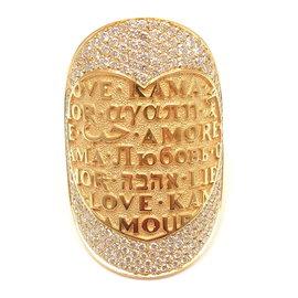 Pasquale Bruni 18K Yellow Gold Profondo Amore Diamond Ring
