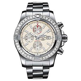 Breitling A1337111/G779 Super Avenger II (two) 3.20ct. Diamond Watch
