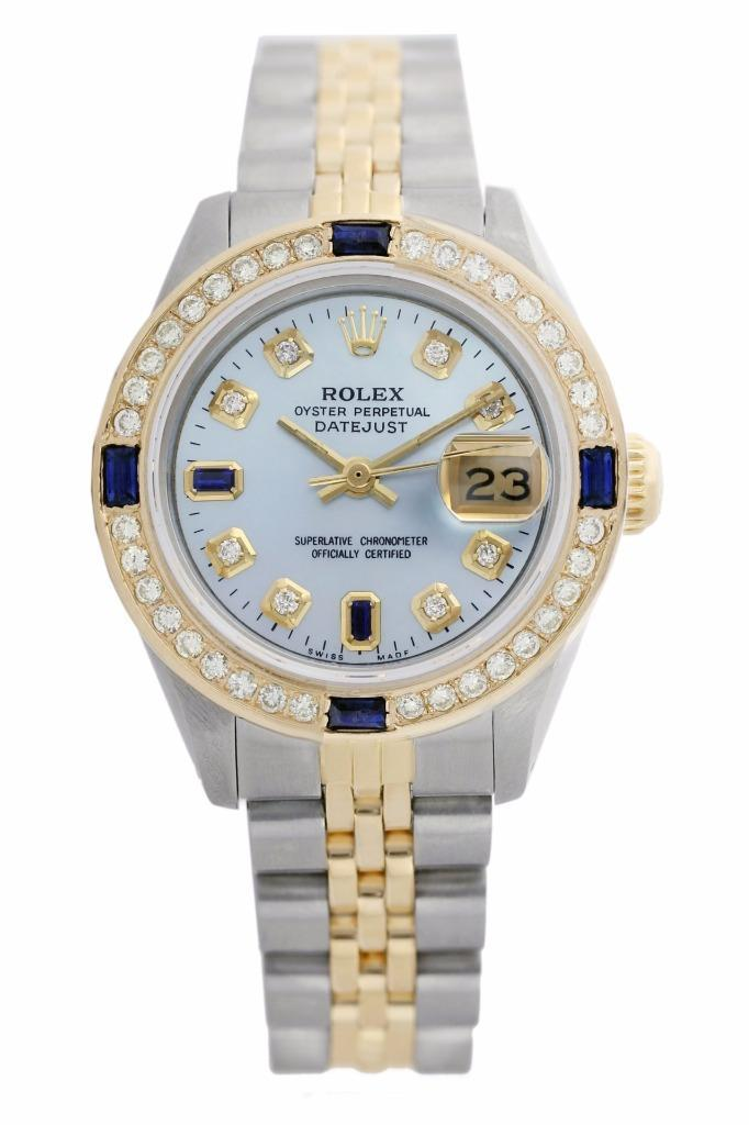 "Image of ""Rolex Datejust Oyster Perpetual Stainless Steel/18K Yellow Gold Ice"""