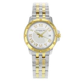Raymond Weil Tango 5599-STP-00308 Steel 18K Gold Tone Quartz Men's Watch