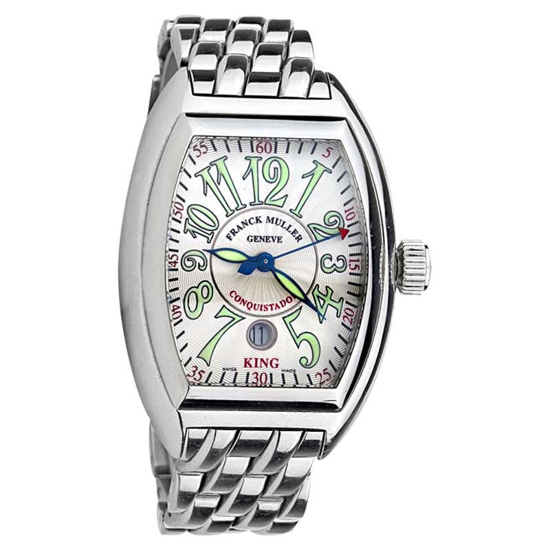 """Image of """"Franck Muller 8005 SC King Steel Automatic Mens Watch"""""""