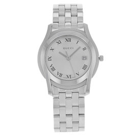 Gucci 5500 Series YA055305 Stainless Steel 35mm Watch