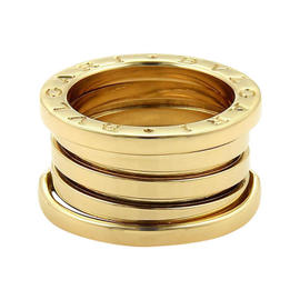 Bulgari B Zero-1 18K Yellow Gold Band Ring