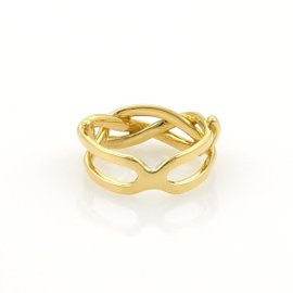 Tiffany & Co. 18K Yellow Gold Infinity Band Ring