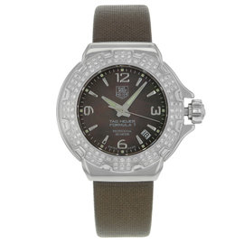 Tag Heuer Formula One WAC1217.FC6221 Diamond & Steel Quartz Womens Watch