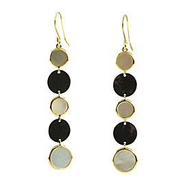 Ippolita 18K Yellow Gold & Sterling Silver Mother of Pearl Notte Long Drop Earring