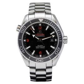 Omega Seamaster Planet Ocean Ceramic Bezel Dive Co-Axial 8500 45mm Mens Watch