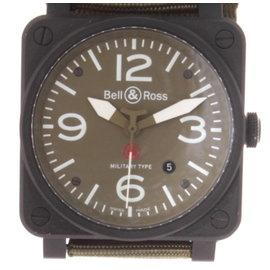 Bell & Ross BR 03 92 Military Type Aviation Matte Black Ceramic 42mm Watch