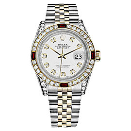 Rolex Datejust Stainless Steel & 18K Yellow Gold 26mm Womens Watch