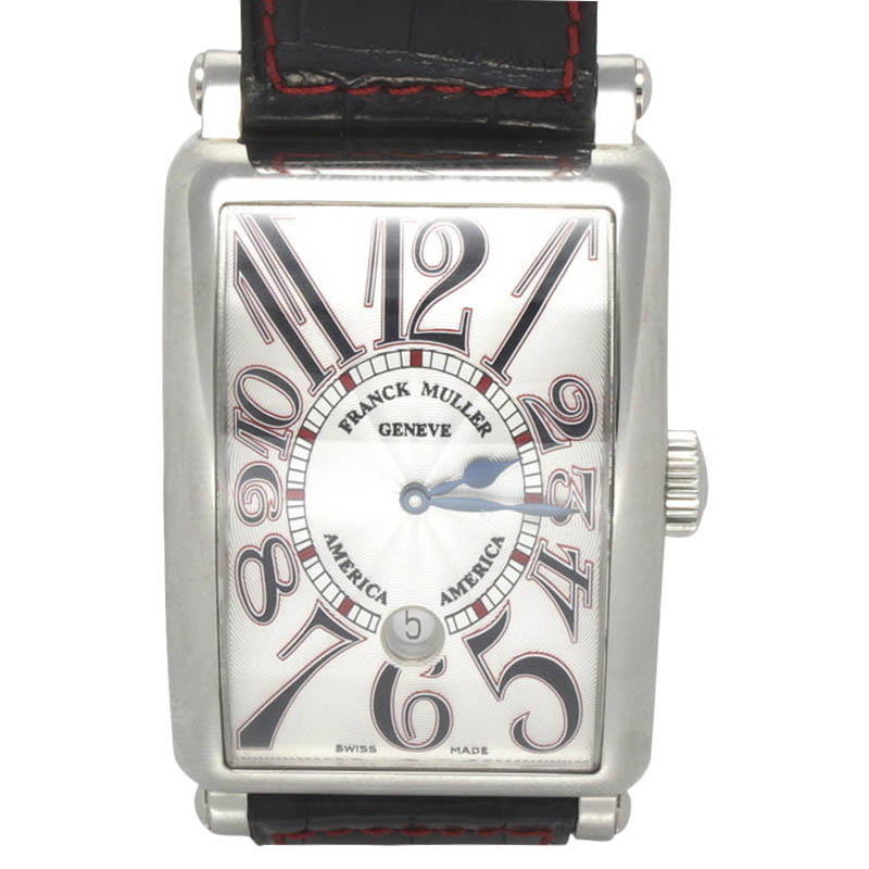 """Image of """"Franck Muller America 1300 SC DT Stainless Steel Automatic 60mm x 35mm"""""""