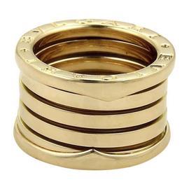 Bulgari Bvlgari 18K Yellow Gold Band Ring Size 5.5