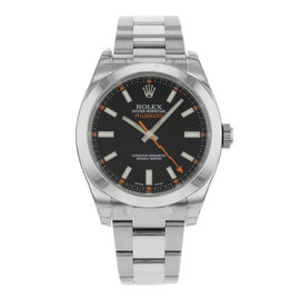 Rolex Oyster Perpetual Milgauss 116400 BKO Stainless Steel Automatic 40mm Mens Watch