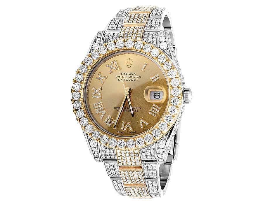"Image of ""Rolex Datejust II 116333 18K Yellow Gold and Stainless Steel 28.35 Ct"""