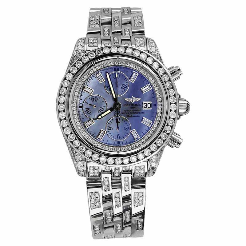 """Image of """"Breitling Evolution A13356 Stainless Steel 43mm Mens Watch"""""""