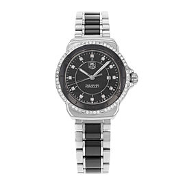 Tag Heuer Formula One WAH1312.BA0867 Stainless Steel & Ceramic Quartz 32mm Womens Watch