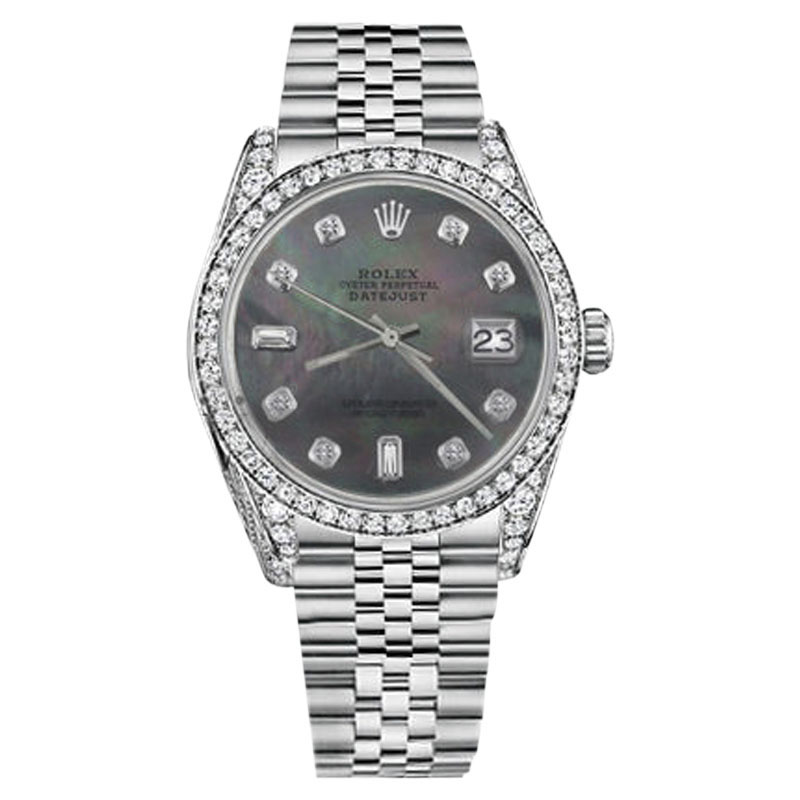 """Image of """"Rolex Datejust Stainless Steel Automatic 26mm Watch"""""""