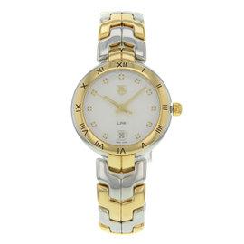 Tag Heuer Link WAT1350.BB0957 Steel & Yellow Gold Quartz 34mm Womens Watch