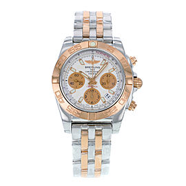 Breitling Chronomat CB014012/G713-378C Steel & Rose Gold Automatic 41mm Mens Watch
