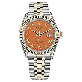 Rolex Datejust Stainless Steel/ 18K Gold 31mm Unisex Watch