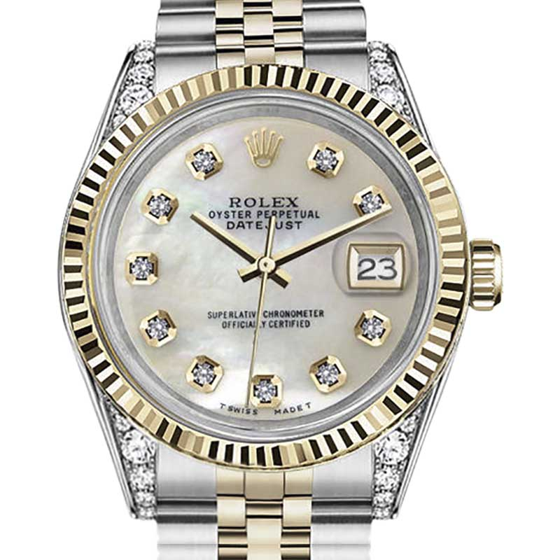 """Image of """"Rolex Datejust Stainless Steel / Gold 36 mm Unisex Watch"""""""