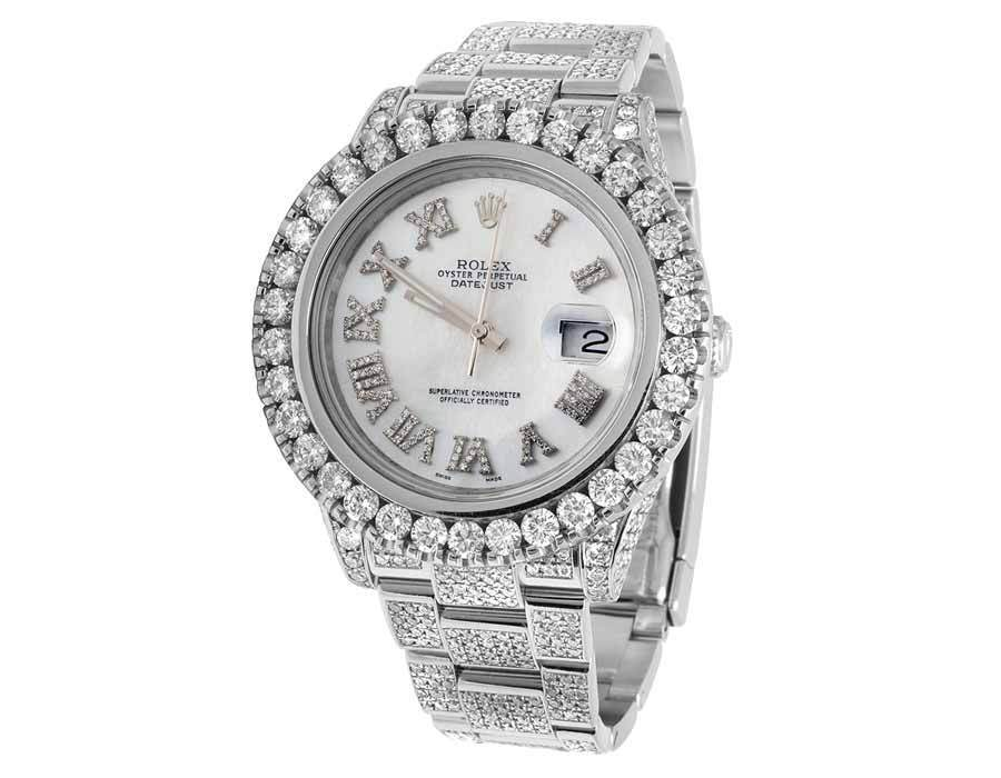 "Image of ""Rolex Datejust II 116334 Stainless Steel 41mm Mens Watch"""