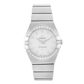 Omega Constellation 123.15.24.60.55.002 Stainless Steel Quartz 24mm Womens Watch