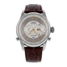 Oris Artelier Worldtimer 69075814051LS Stainless Steel Automatic 43mm Mens Watch