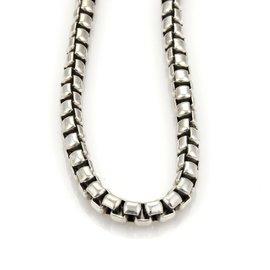 David Yurman Sterling Silver Link Chain Necklace