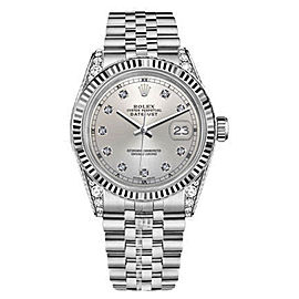Rolex Datejust Stainless Steel 36mm Unisex Watch