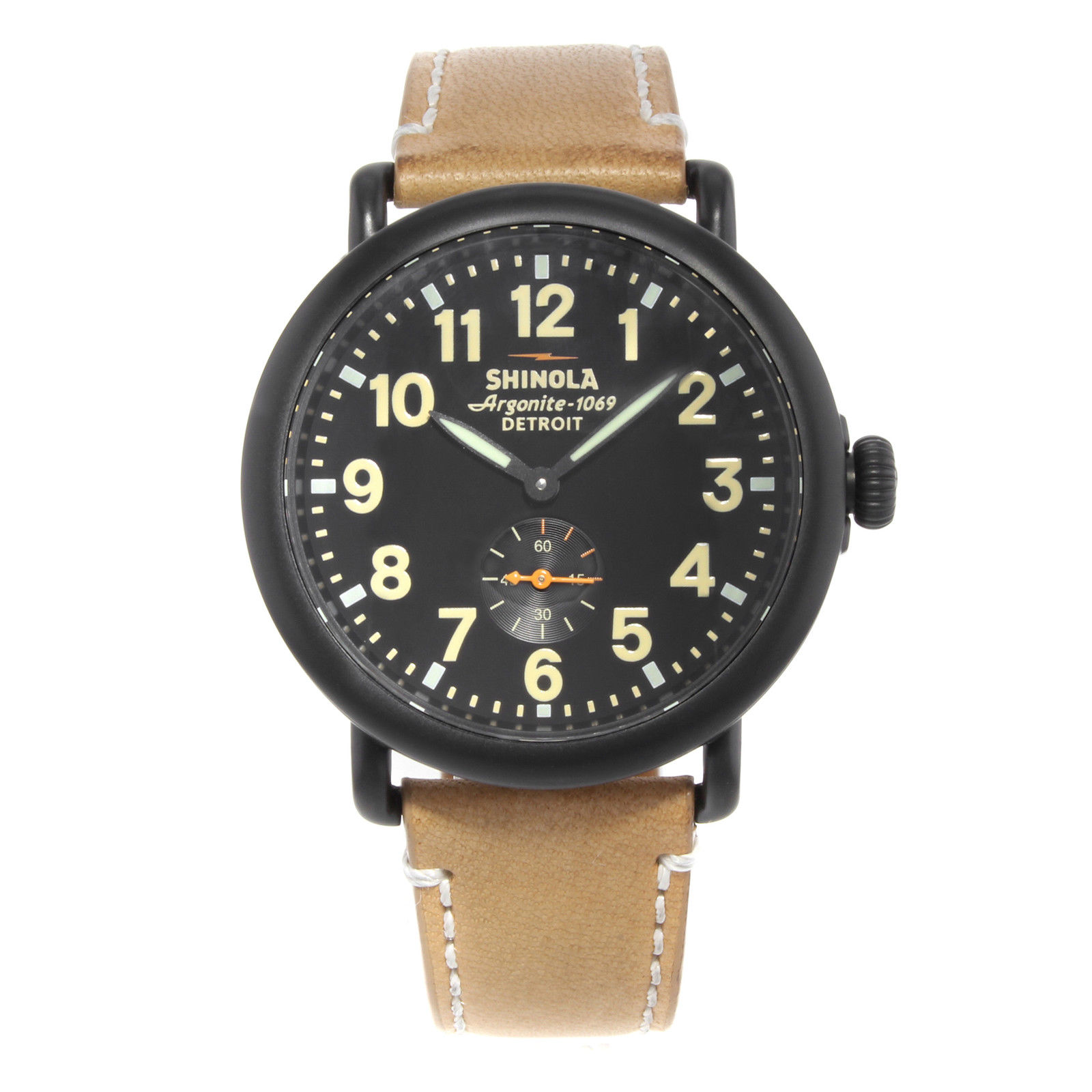 "Image of ""Shinola The Runwell S01000035 Stainless Steel Quartz 41mm Mens Watch"""