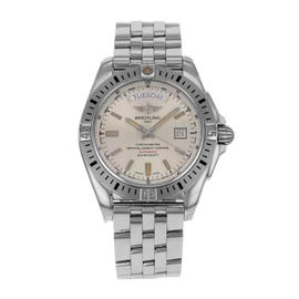 Breitling Galactic A45320B9-G797-375A Stainless Steel Automatic 44mm Mens Watch