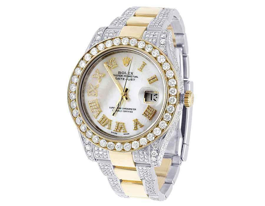 "Image of ""Rolex Datejust II 116333 18K Yellow Gold & Stainless Steel White"""