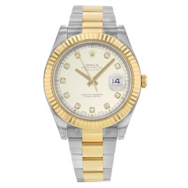 Rolex Datejust II 116333 ido 18K Yellow Gold & Steel Automatic 41mm Mens Watch