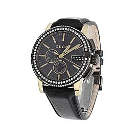 Gucci G-Chrono YA101203 Black PVD over Stainless Steel 44mm Mens Watch
