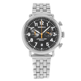 Shinola Detroit 10000064 Stainless Steel 40mm Mens Watch