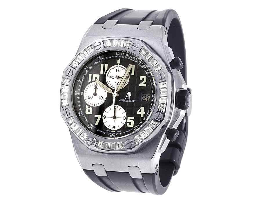 "Image of ""Audemars Piguet Royal Oak Offshore Stainless Steel 42mm Mens Watch"""